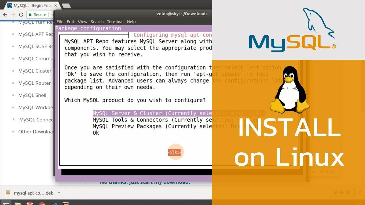 วิธีการติดตั้ง-MySQL-บน-Ubuntu-18-04-ตอนที่-1